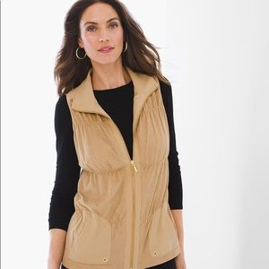 Zenergy by Chico's Sage Perforated Vest